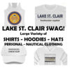 Lake St. Clair SWAG NEW!